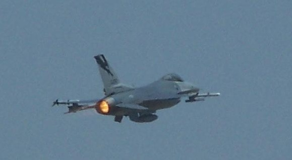 F-16 Takeoff March Air Reserve Base